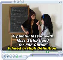 Fae corbin spanked by the headmistress