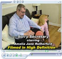 Sorry Secretary starring Amelia Jane Rutherford
