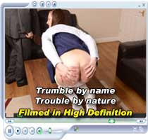 Danielle is spanked, paddled and caned